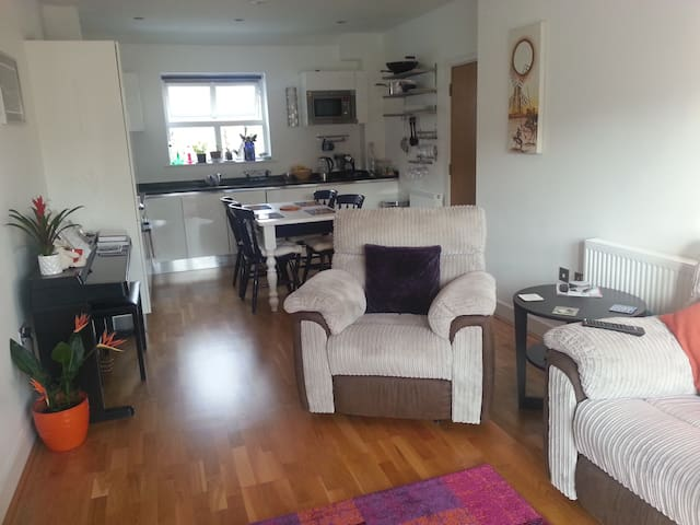 Double Room and Own Bathroom near Stansted Airport - Hertfordshire - Lägenhet