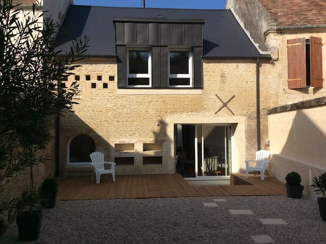 Belle Petite Maison Clerval - Courseulles-sur-Mer