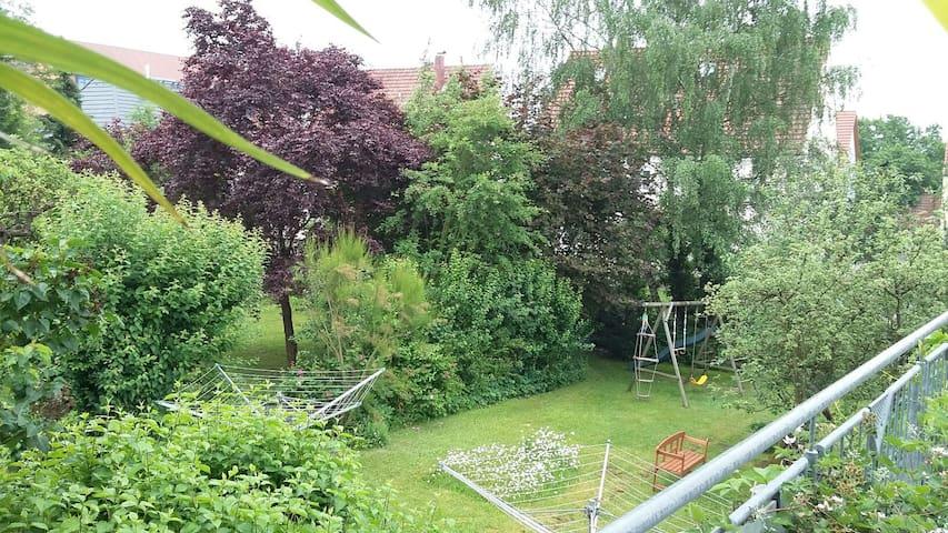 Grüne Oase für Eltern Kind in NES - Bad Neustadt an der Saale - Appartement