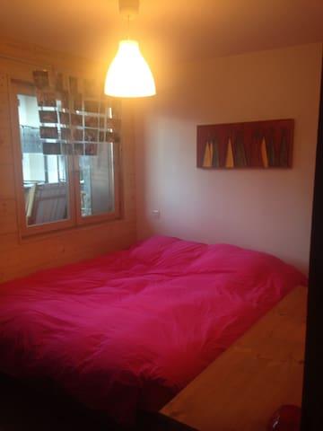 Chambre cosy centre des Carroz - Arâches-la-Frasse
