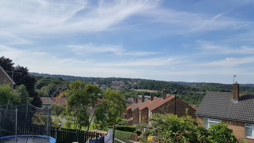 Balcony room with a view, kitchenette, shower room - Sheffield - Appartement