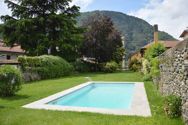 The Chalet with pool on Lago Maggiore - Pallanza - Villa