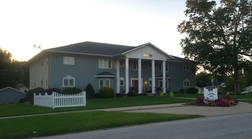 Furnished apartment close to downtown Carroll - Carroll - Daire