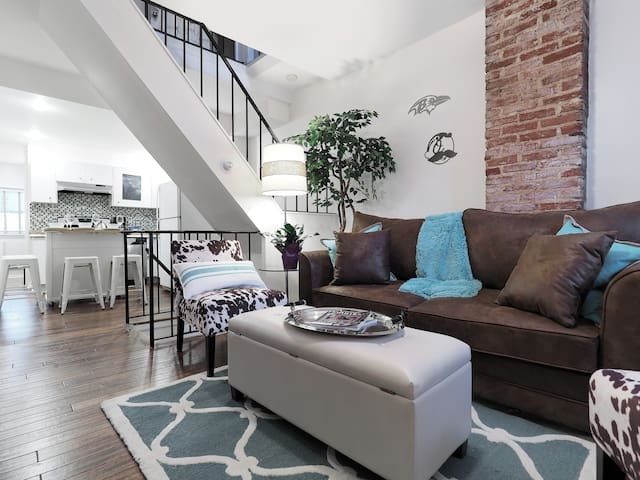 BmoreAtHome: Modern Rowhouse in Fed Hill/Harbor-5 - Baltimore