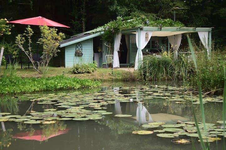le chalet de la Grenouille Verte - Tursac - Natuur/eco-lodge
