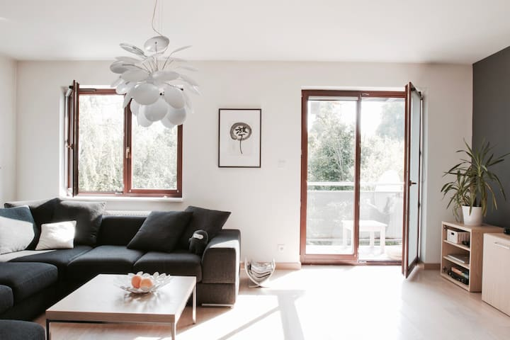 Apartment with a view of the forest - Kraków - Apartament
