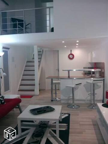 Studio 2 personnes plein pied tout confort - La Rochelle - Lägenhet