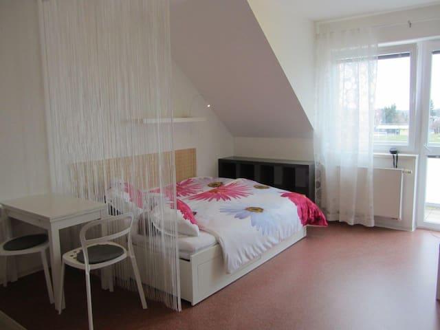 Quiet New Sunny Place With Balcony & Free Parking - Praga