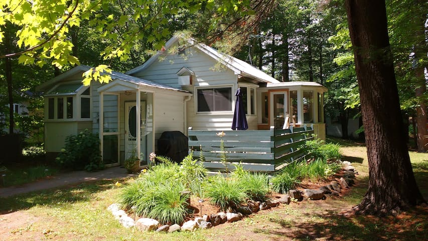 Cozy Cottage, private lane - Perfect for Families - Milford Bay - Huis
