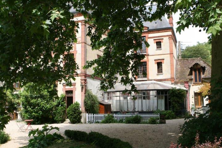 Charmant appartement avec grand jardin - Bourron-Marlotte - Apartamento