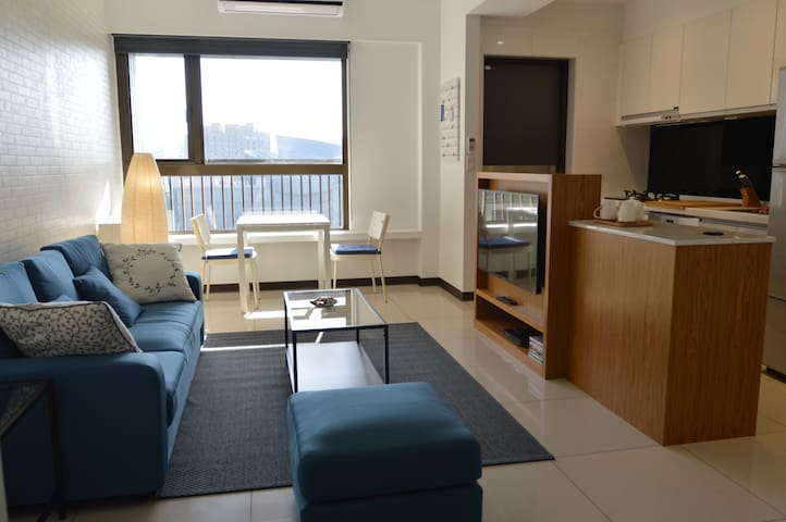 25min to airport- Art Center Private Apartment - Taoyuan District - Daire