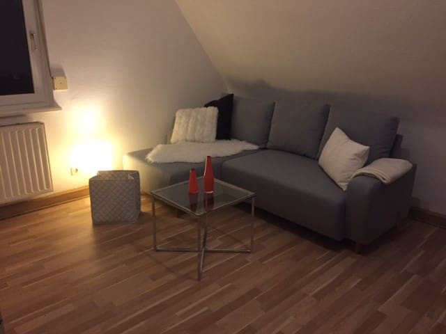 Gemütliche & moderne 3-Zimmer Wohnung - Rottweil - Leilighet