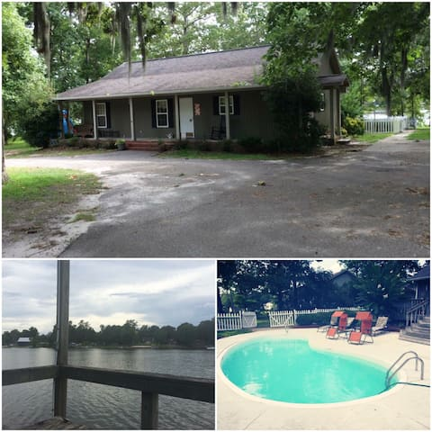 Peaceful Lake Marion Waterfront home - Manning - Casa