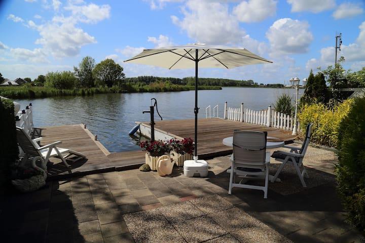 Ijsselmeer - Traumblick auf's Wasser - Wervershoof - Stuga