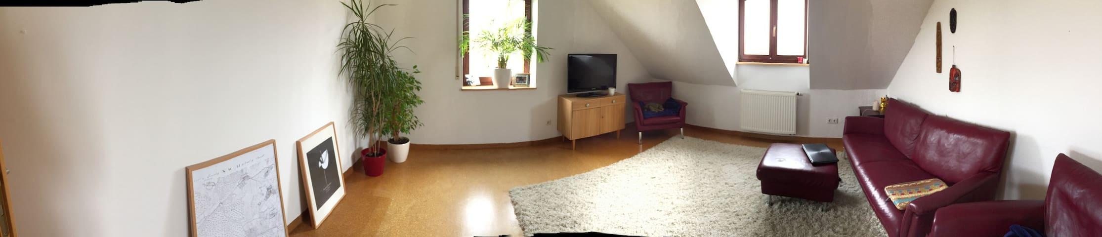 Living in a small village 5 min. from Hilpoltstein - Hilpoltstein - Departamento