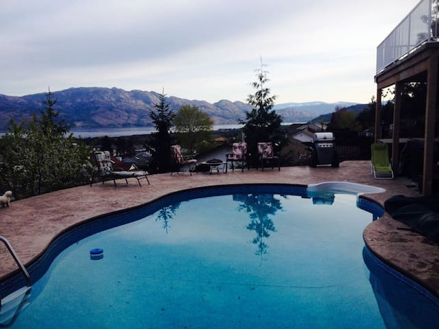 SHANNON HEIGHTS LAKEVIEW SUITE - West Kelowna - Appartement