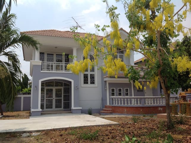 A two story single-family home - Rangsit