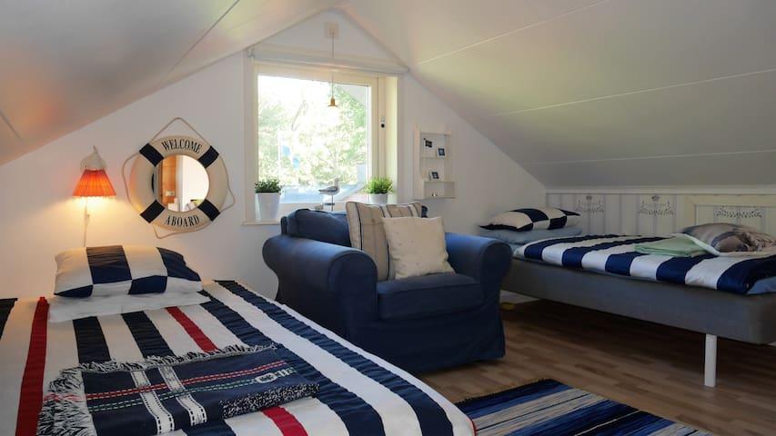Stockholm archipelago twin loft - Vaxholm - Villa