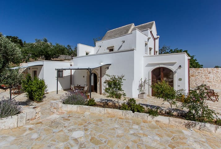 Farmhouse in olive grove with pool - Martina Franca  - Apartment