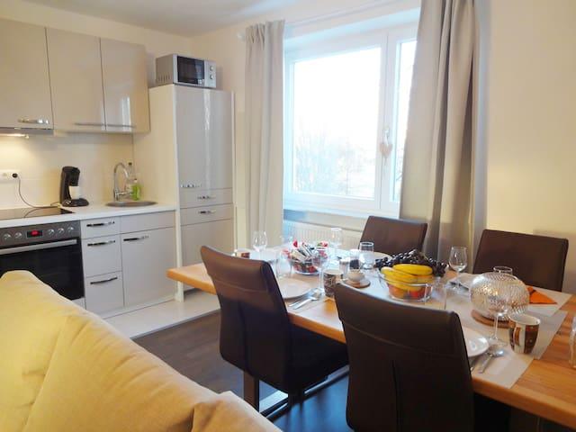 Wunderschönes 3 Zimmer Appartement nähe Stadtmitte - Augsburg - Leilighet