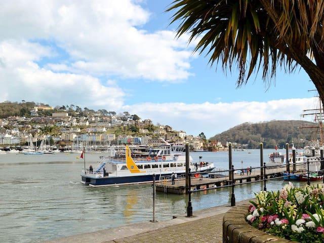 Harbour Glimpse - Dartmouth
