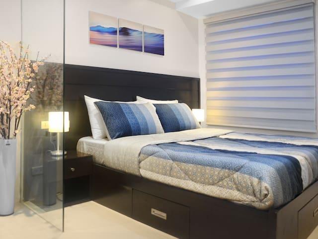 Cheap Cozy 1B WIFI  Residences Rent - Quezon City