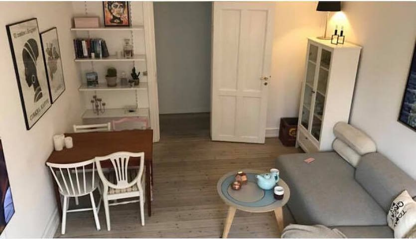 Bright and spacious flat in City Center CPH - Frederiksberg - Apartamento