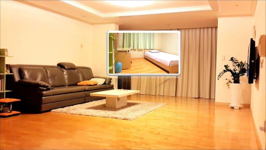 [1번방] 분당의 넓고 깨끗한 아파트 - Seongnam-si, Bundang-gu - Квартира