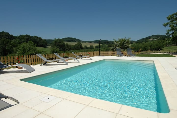 High Quality with a Private Pool near the Village - Castelmoron-sur-Lot - Bungalow