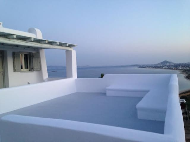 viila mousa apartments naxos orkos  - Naxos