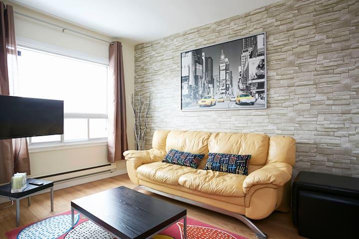 Condo moderne 2 chambres. - Montréal - Appartement