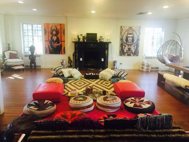 Beautiful soulful meditation yoga temple retreat - Croton-on-Hudson