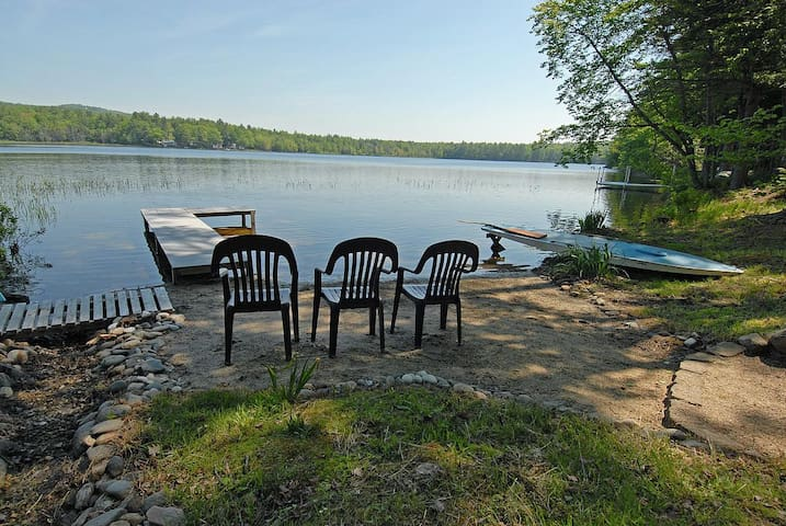 Visit our peaceful pond in Wolfeboro NH - Wolfeboro - Casa