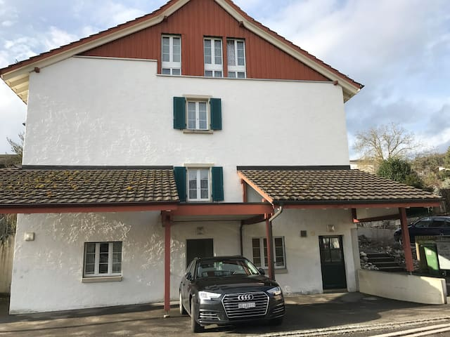 Completely new established apartment good location - Erlinsbach - Byt