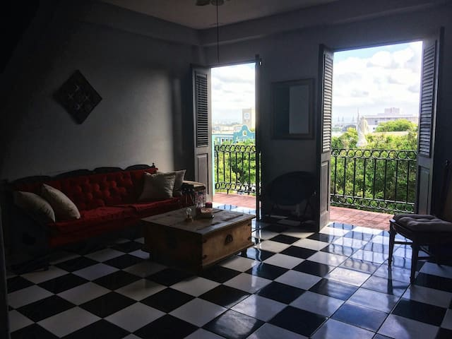 Amazing view and a cozy room - San Juan - Appartement
