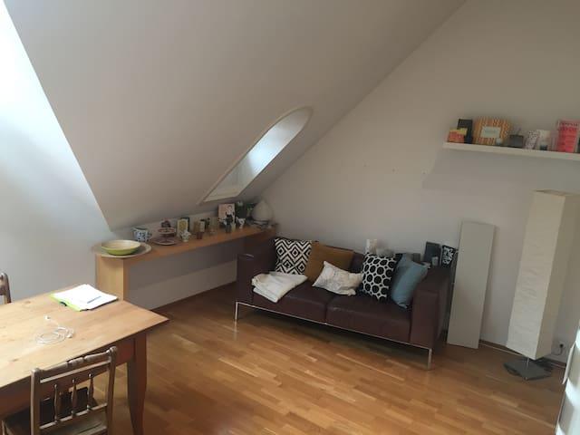 Loftähnliche kleine Wohnung in der Altstadt - Baden - Departamento
