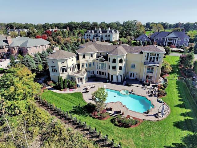 12,000 Sq. Ft Mansion 15 m to NYC - Cresskill - 獨棟