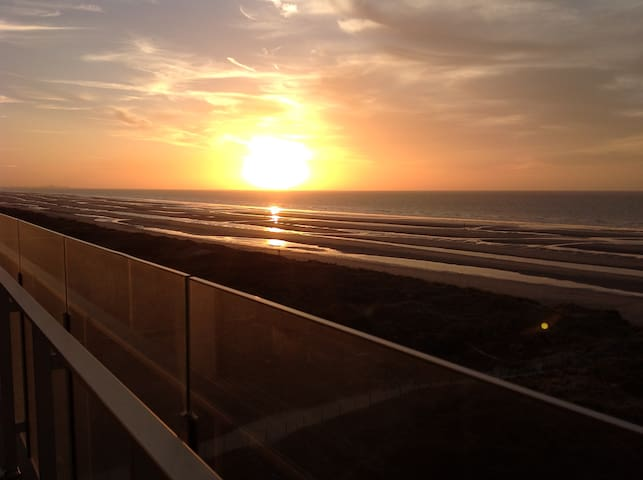 Relaxing 4p appt with stunning view ! - De Panne