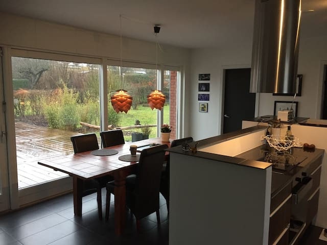 Hus med værelse i rolige omgivelser - Aalborg - Huis