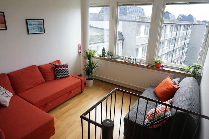 Central and Affordable couch for young Travellers - Malmö - Appartement