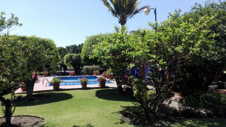 Casa condomini con alberca y jardín - Cuernavaca - Ev