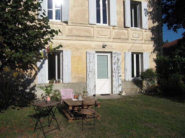 A 25 min de Bordeaux Maison au cœur des Graves - Arbanats