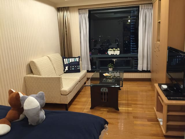 Taichung Great View Double room - 台中市 - Apartament