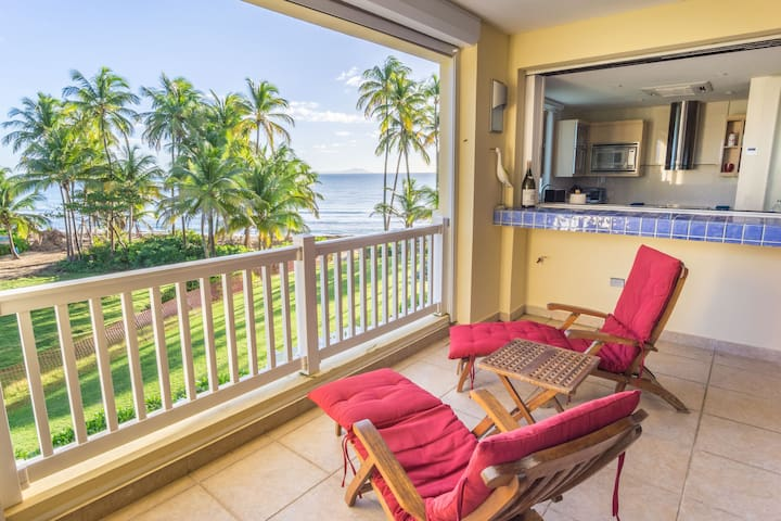 Private luxury oceanfront condo in Marbella Club - Palmas del Mar - 公寓