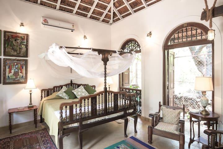 Wow Airy Garden House, Anjuna-Vagator, North Goa - North Goa - Loft
