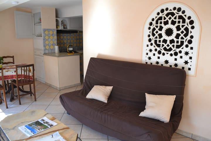Joli T2 centre village provençal - Aups - Appartement