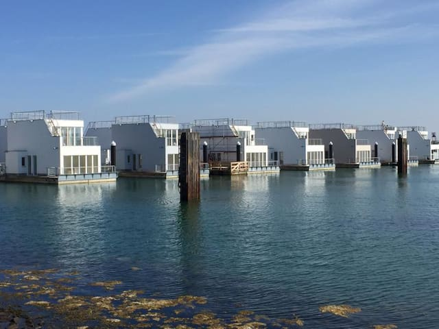 Schwimmendes Ferienhaus/ Hausboot/ Floating Home - Kappeln - Ev