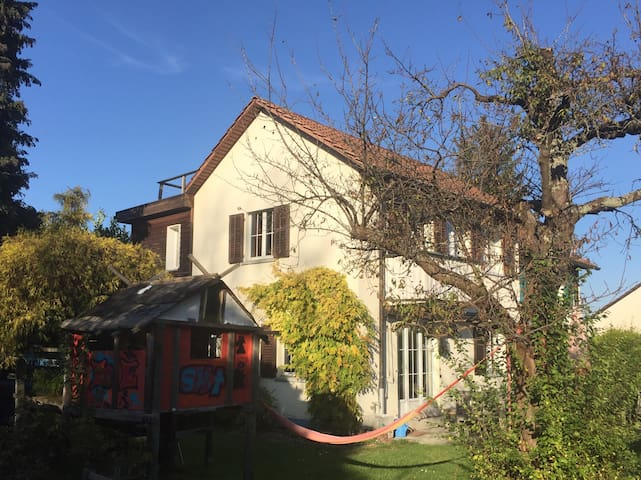Beautiful House with Garden close to the Lake - Thalwil - Huis