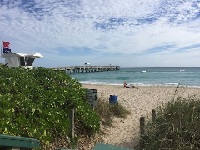Walk to Palm Beach, Parks & Dining - Lake Worth