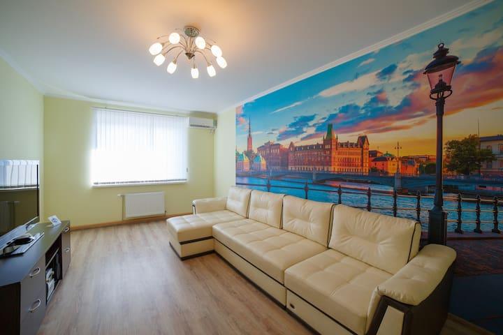 PaulMarie Apartments on Mazurova - Homieĺ - Lägenhet